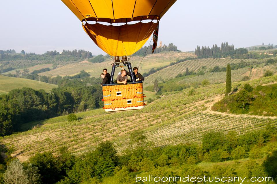tuscan balloon close up
