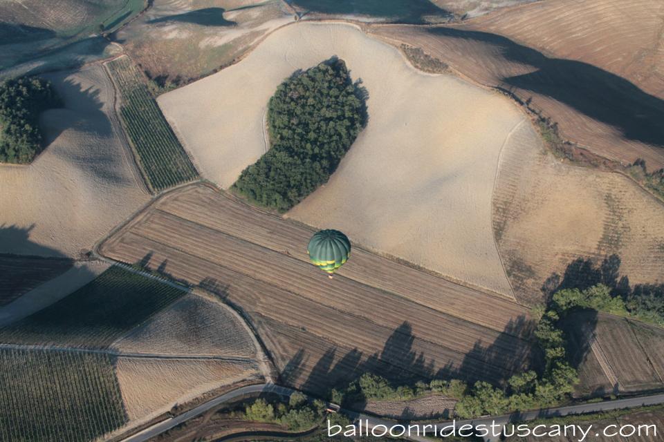 balloon in final approach