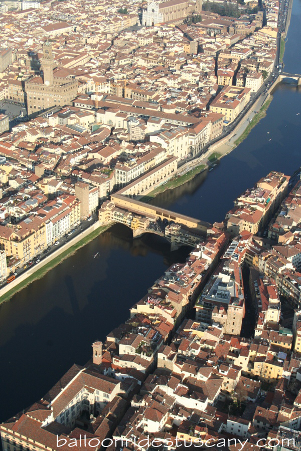 Ponte Vecchio from the balloon