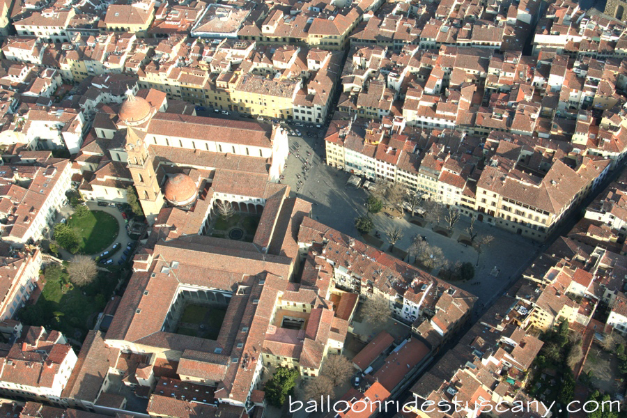 Santo Spirito from the balloon