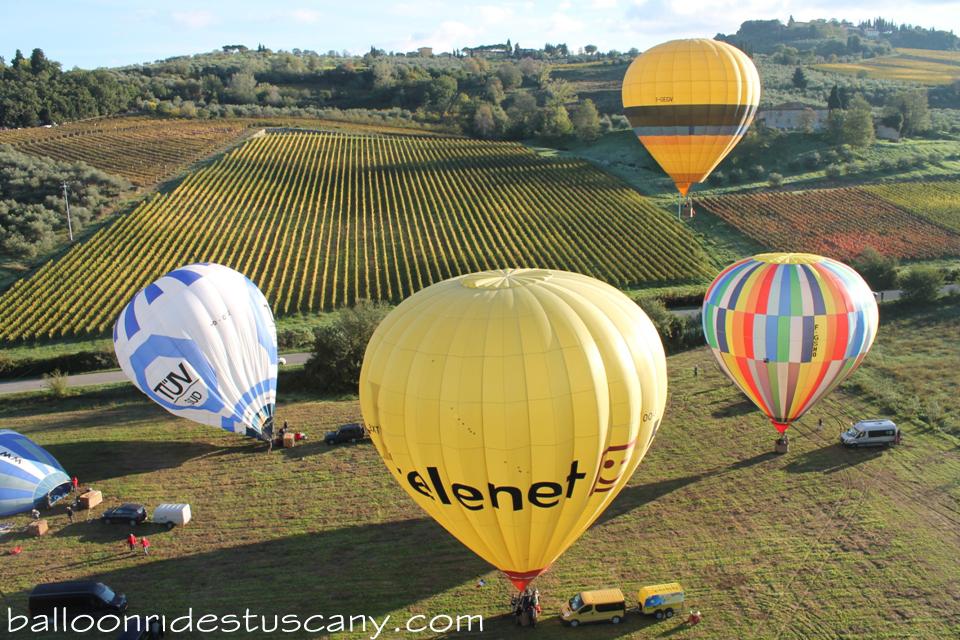 ballooning friends Montespertoli