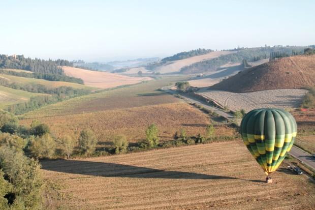 Balloon landed