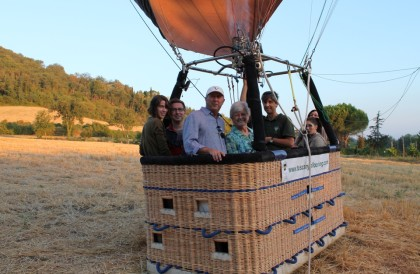 Booking a Standard balloon flight in Tuscany