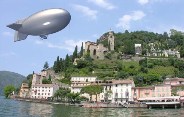 Hot-air Airship, Lugano