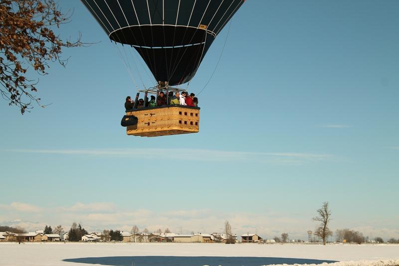 balloon ready for landing