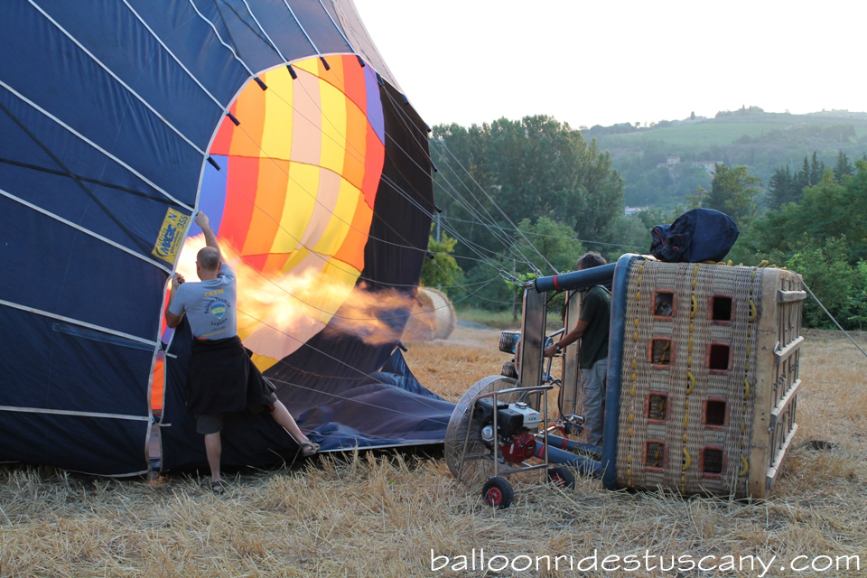 balloon hot inflation