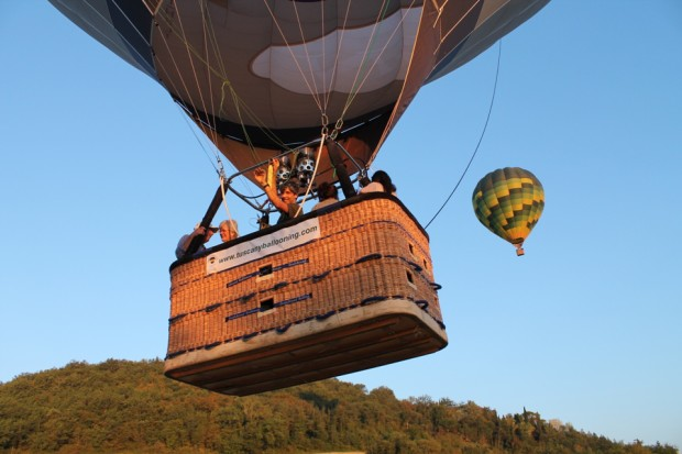 Balloon take off
