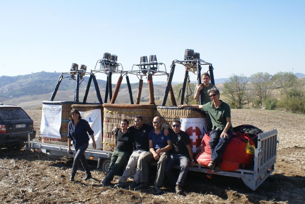 Matera balloon team
