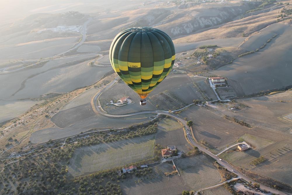 Matera ballooning