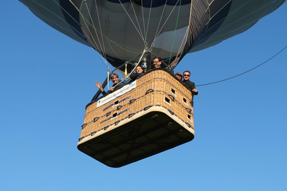 Balloon takeoff