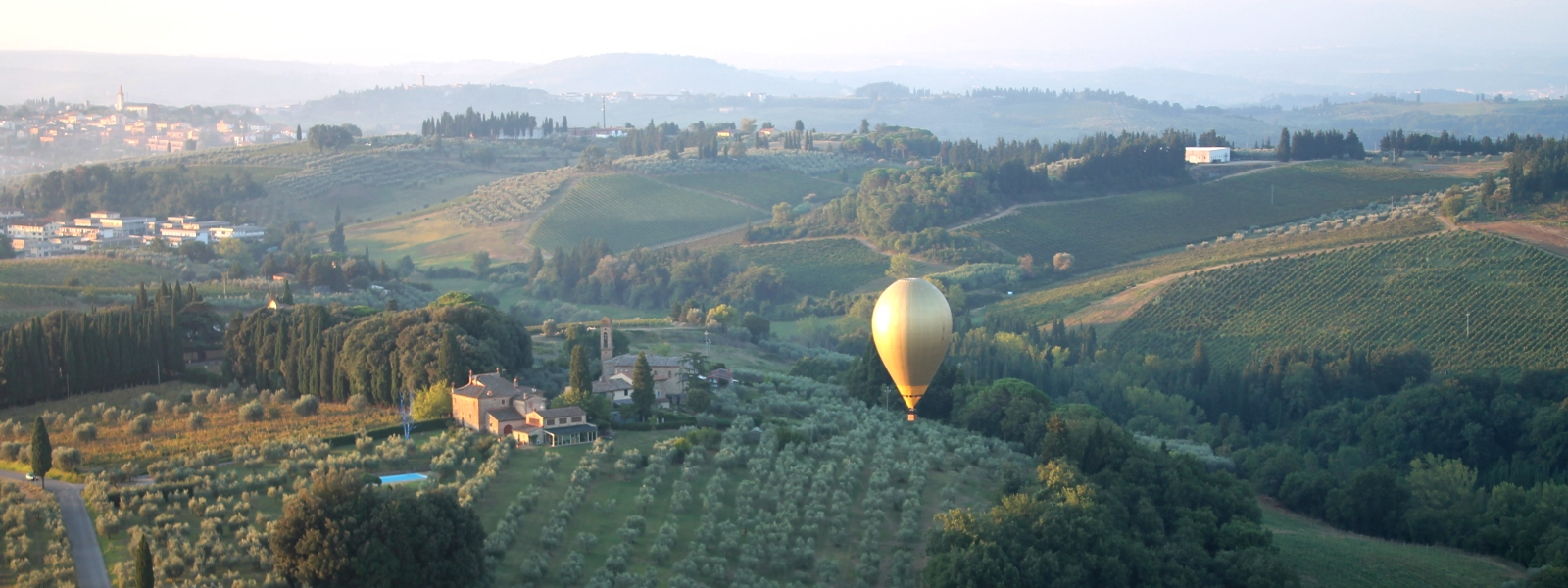 BALLOON RIDES in TUSCANY